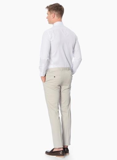 George Hogg Slim Fit Uzun Kollu Gömlek Beyaz